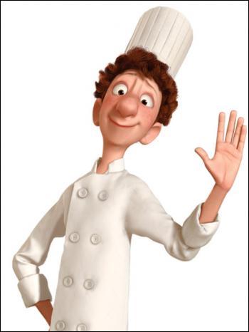 Ce personnage s'appelle Linguini, il devrait t'aider à trouver le titre de ce film !