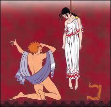 Mythologie grecque - En découvrant que l'homme que j'avais épousé était en réalité mon fils, je me suis suicidée en me pendant, ne pouvant supporter la douleur de mon inceste. Qui suis-je ?
