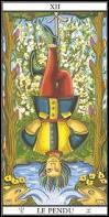 """Mythologie ésotérique - Mon nom est bien connu, je suis """"le Pendu"""", j'apparais sur le jeu de tarot de Marseille et symbolise le malheur et le choix. Qui suis-je ?"""