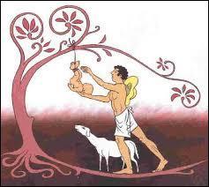 """Mythologie romaine - J'ai été attaché par le pied à un arbre lorsque j'étais enfant d'où le nom que j'ai reçu, signifiant """"pied enflé""""."""