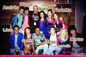 Qui est sa meilleure amie dans l'émission Violetta ?