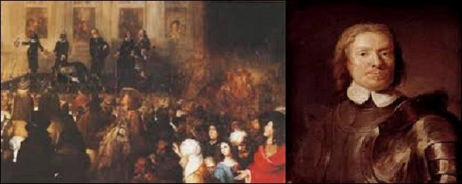 Quel homme eut raison du souverain Charles 1er, roi d'Angleterre, d'Écosse et d'Irlande décapité en 1649 ?