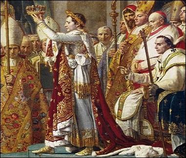Quand et où se déroula le couronnement de Napoléon Bonaparte ? Quel pape le sacra ?
