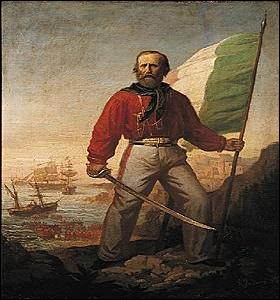 """Qui compose """"l'expédition des Mille"""" lors de l'unification de l'Italie ?"""