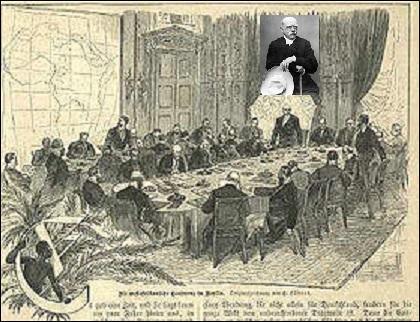 Qui inaugura la conférence de Berlin en 1885 ? Quel est son ordre du jour ?