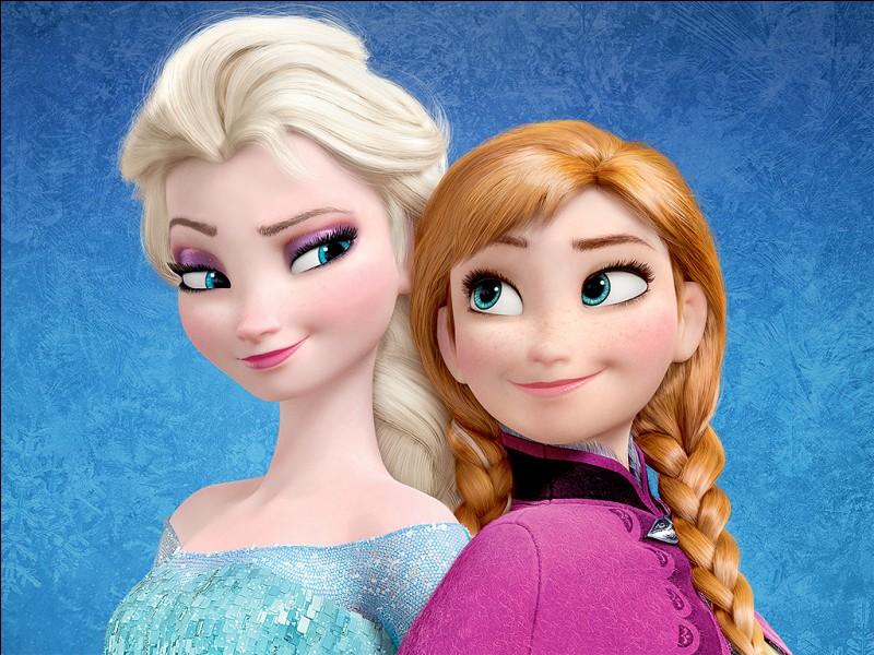 "Cochez la bonne orthographe : ""Elsa (...) la grande sœur d'Anna"""
