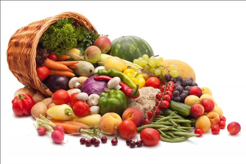 Parmi ces trois légumes, lequel est de couleur orange ?
