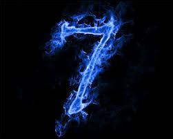7 est le niveau de pH...