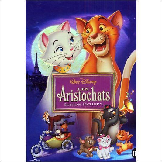 """""""Les Aristochats"""" est un dessin animé qui a été créé entre :"""