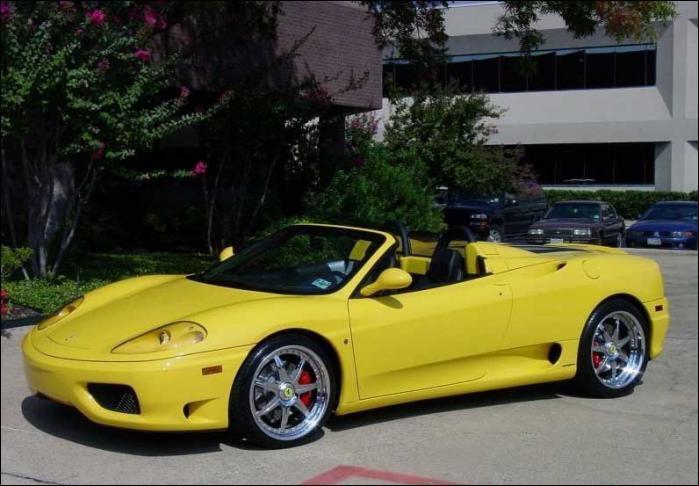 Quelle est cette Ferrari ?