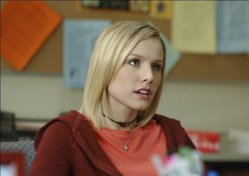 Kristen Bell a interprété le rôle d'une jeune lycéenne détective du nom de...