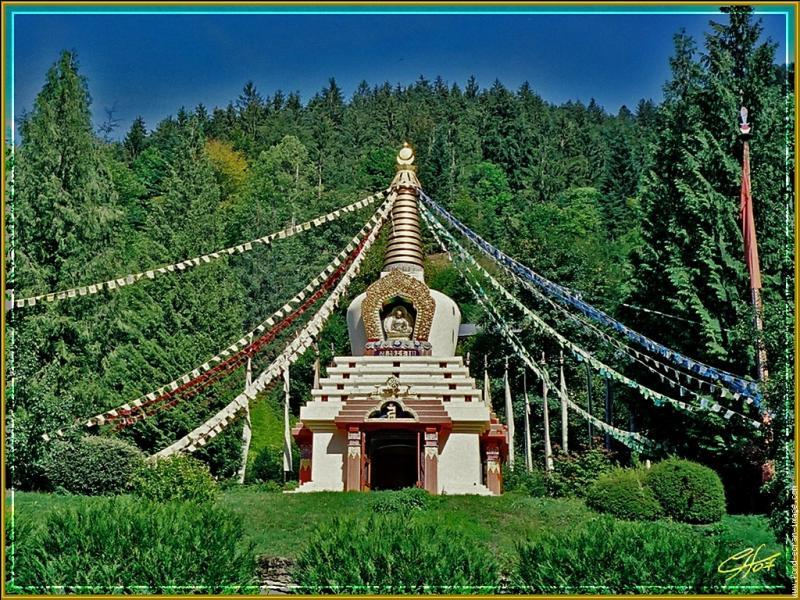 """Dalaï Lama : """"Nul besoin de temples, nul besoin de philosophies compliquées. Notre cerveau et notre cœur sont nos... ! """""""