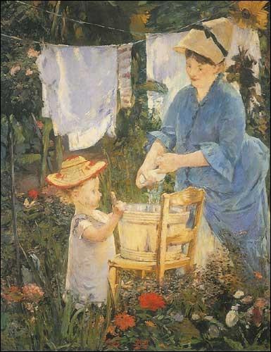 Qui a peint La lessive ?