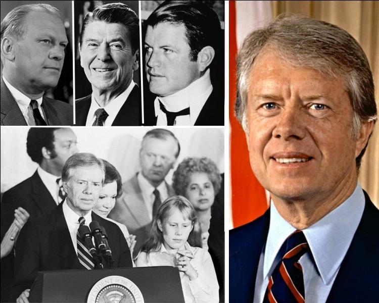 Jimmy Carter, remporte les élections américaines le 2 novembre et devient le 39 ème Président des Etats-Unis. Qui était son adversaire républicain ?