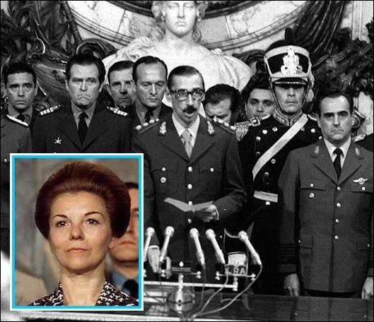 Quel général putschiste à la tête de la junte militaire, renverse Isabel Martínez de Perón en Argentine le 24 mars ?