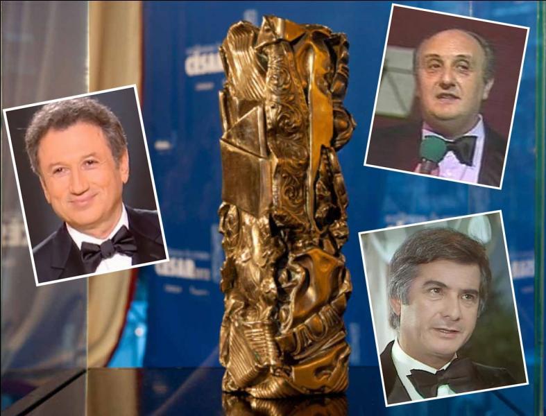 Le 3 avril, avait lieu la 1re cérémonie des César du cinéma français. Qui en était le maître de cérémonie ?