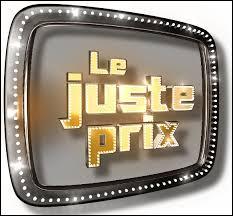 """Qui présente l'émission """"Le juste prix"""" sur TF1 ?"""