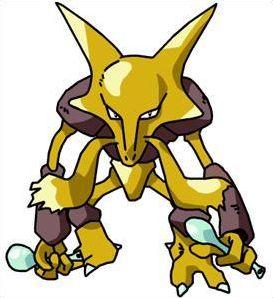 Pokémon : alakazam