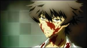 Pourquoi Toshio est-il couvert de sang ?