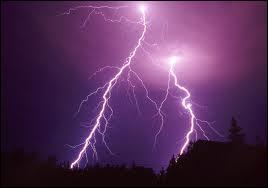 Parmi ces attitudes, laquelle faut-il adopter si vous êtes dehors lors d'un orage avec de la foudre ?