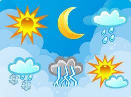 La météo dans tous ses états !