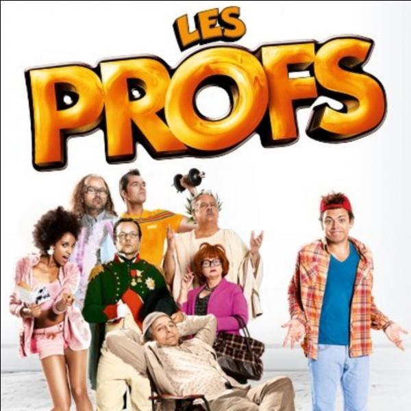 [Cinéma] Quelle profession exerce l'acteur Pierre-François Martin-Laval, alias Antoine Polochon, dans le film 'Les Profs' ?