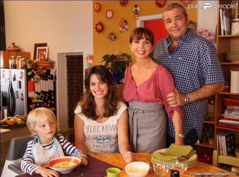 Qui sont les quatre personnes présentes sur la photo ?