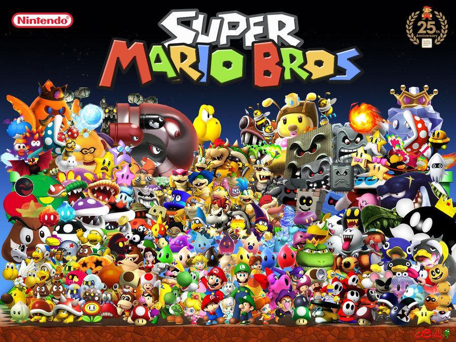 Les ennemis de Mario