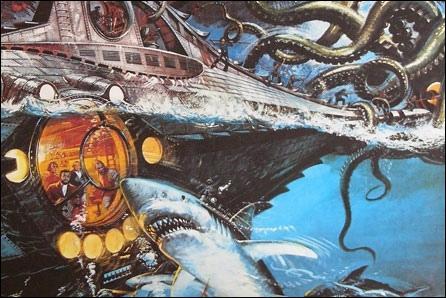 """[Roman] Quel écrivain a écrit le roman : """"Vingt mille lieues sous les mers"""" ?"""