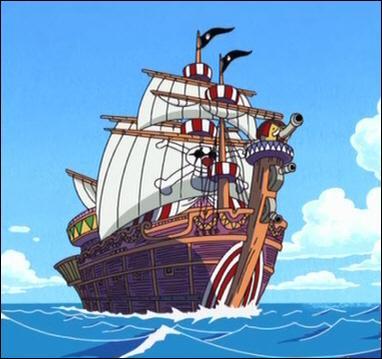 Baggy est-il le capitaine de ce navire ?