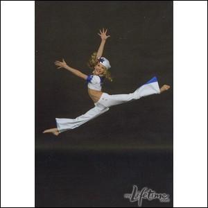 Qui est reconnue pour sa souplesse et sa force en danse acrobatique ?