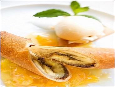 Aujourd'hui, je commence par le dessert pour préparer mon menu. De quelle douceur est-il question ?