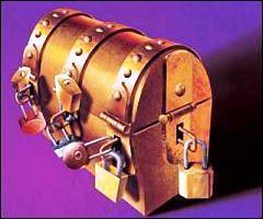 """Dans """"L'avare"""", où Harpagon dissimulait-il sa cassette remplie de 10 000 écus d'or ?"""