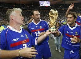 La France a remporté la Coupe du monde de 1998 :