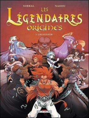 """Le tome """"Origines de Gryf""""..."""
