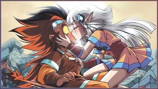Gryf et Shimy se sont embrassés...