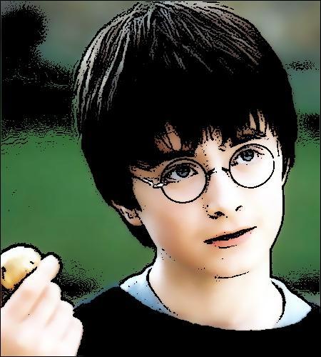 À quoi Harry pense-t-il lorsqu'il exécute le sortilège du Patronus, à Pré-au-Lard (tome 7) ?