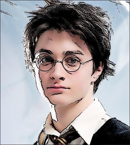 Quelle est la question puérile qu'il pose à Sirius alors qu'il marche vers Voldemort, dans la forêt Interdite (tome 7) ?