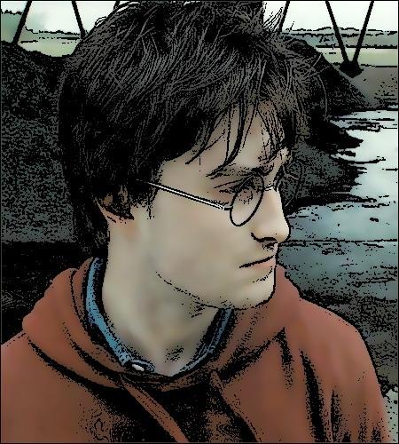 Que faisait la première copine d'Harry lorsque celui-ci l'embrassa pour la première fois ?
