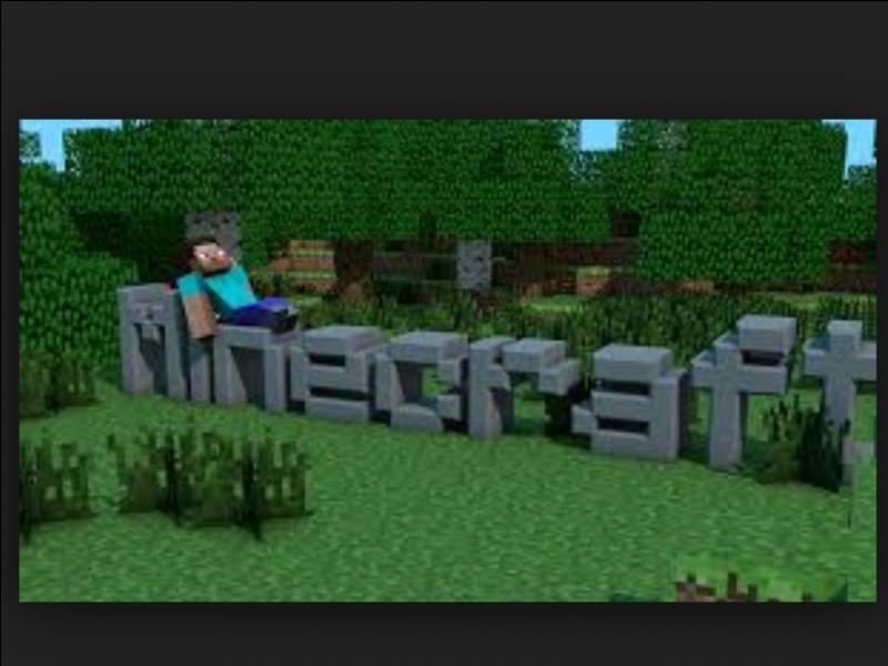 """Quel est le but de """"Minecraft"""" (plusieurs réponses) ?"""