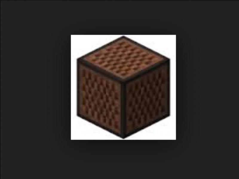 Quel est le craft de ce block (plusieurs réponses) ?
