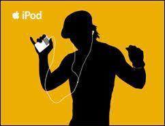 Est-ce un homme ou une femme en pub iPod ?