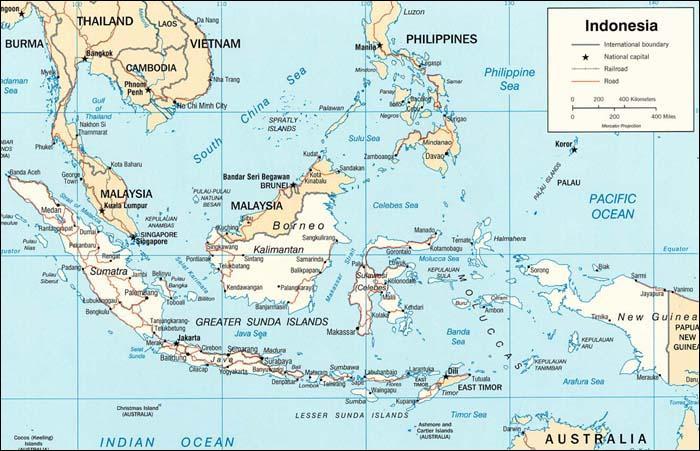 En 1942, à quel empire l'Indonésie appartient-elle dans sa quasi-totalité ?