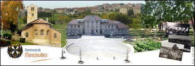 Village lorrain de l'arrondissement de Briey, Mancieulles se situe dans le département ...