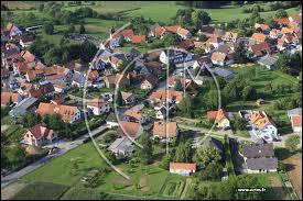 Le village Bas-Rhinois de Memmelshoffen se situe en région ...