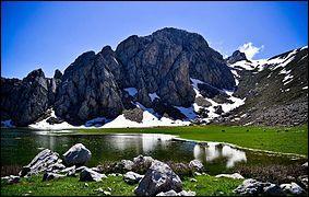 Dans quel département verrez-vous ce magnifique lac Agoulmime de Tikjda ?