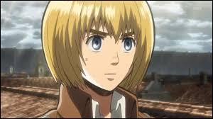C'est le dernier personnage masculin proposé : Armin Arlert et il est dans...