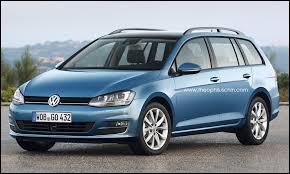Nous débutons avec la version break de la Volkswagen Golf 7. Elle prend alors le nom de ...