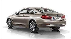 Remplaçante de la BMW Série 3 Coupé, c'est en toute logique qu'elle prend le nom ...