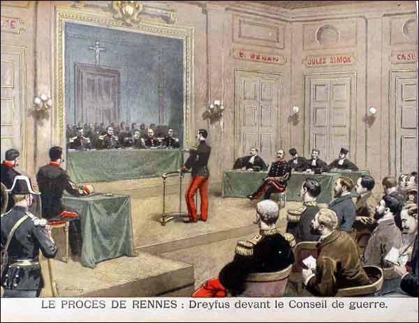 En 1894, éclate une affaire d'espionnage au profit de l'Allemagne. Un capitaine de confession juive est accusé d'être le traitre. Comment s'appelle cette affaire ?